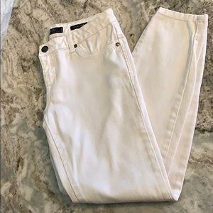 Jessica Simpson White Skinny Jeans Size 28